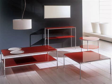 crystal table ls for living room diagonal square coffee table by bontempi casa design