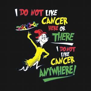 Dr Seuss Height Chart I Do Not Like Cancer Here Or There I Do Not Like Cancer