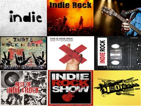 Research Into A Music Genre Indie Rock