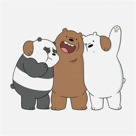 latest  bare bears iphone wallpaper full hd p