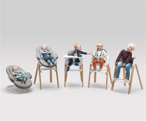 chaise haute stokke steps from birth through childhood versatile stokke steps baby