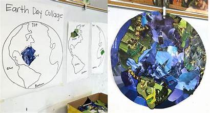 Collage Earth Planet Projects Project Paper Magazine