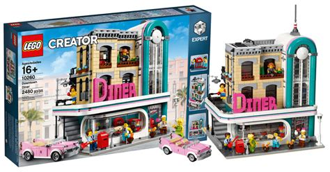 lego creator 16 brickfinder lego creator downtown diner 10260 official reveal