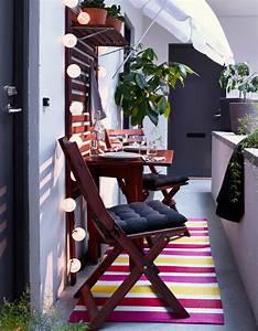 Tapis Pour Balcon : 20 id es pour amenager un petit balcon elle d coration ~ Voncanada.com Idées de Décoration