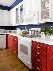 Küche Rot Streichen : k che renovieren ideen effektiv und g nstig umsetzen ~ Markanthonyermac.com Haus und Dekorationen