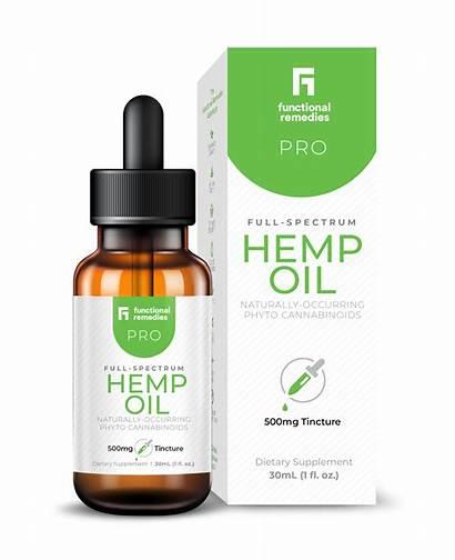 Hemp Oil Pro Functional Remedies 1000mg Dropper