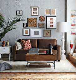 decorating around a leather sofa centsational girl