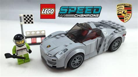 lego speed chions porsche lego porsche 918 spyder speed chions set review 75910