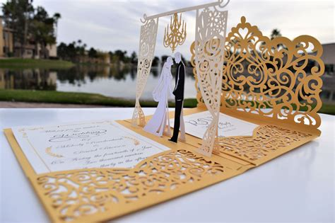 25 Islamic Wedding Invitation Card Designs For Muslims
