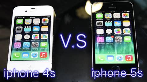 4s vs 5s iphone 4s vs iphone 5s
