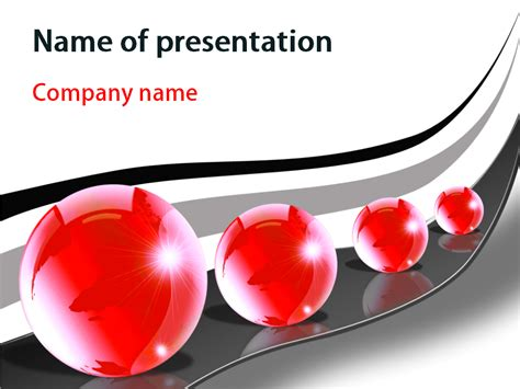 big balls powerpoint template
