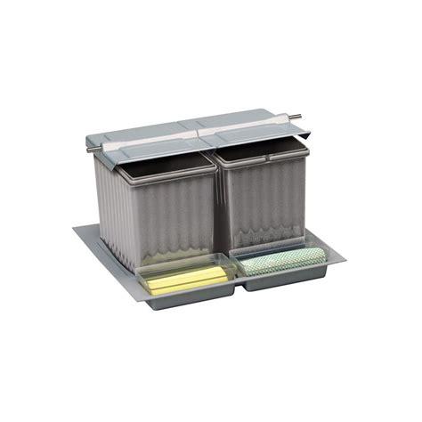poubelle tiroir cuisine poubelle tiroir 3 bacs 27 litres