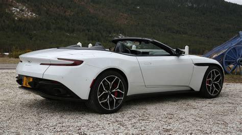 Testdriving The 2019 Aston Martin Db11 Volante In Nice
