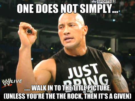 The Rock Meme - wwe trolls of the day july 9