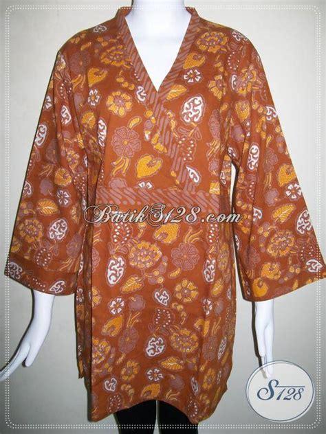 baju batik kombinasi tulis  wanita trendybaju batik