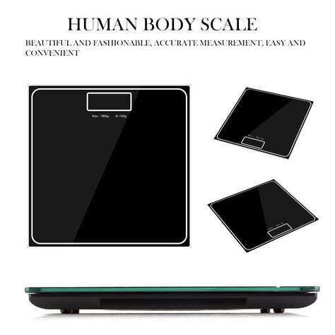 digital electronic weighing scales weight bathroom kitchen