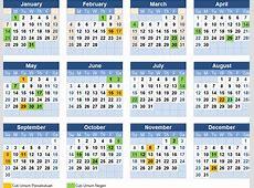 Kalendar 2018 johor 2018 Calendar printable for Free