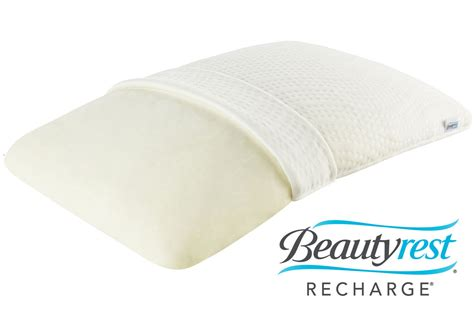 beautyrest memory foam pillow beautyrest 174 recharge 174 memory foam pillow at gardner white