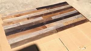 Fichte Auf Alt Trimmen : how to make a diy headboard from recycled wood with custom lighting ~ Frokenaadalensverden.com Haus und Dekorationen