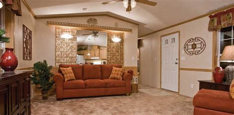 Decorating Ideas For Trailer Living Room by Explorer Singlewide Colonial Homes Inc Sales And