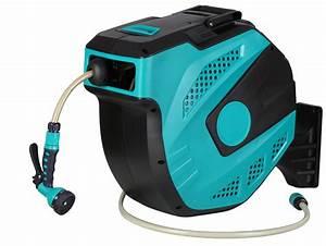 Enrouleur Automatique Tuyau Arrosage : enrouleur tuyaux d 39 arrosage de 20m 13mm enrouleur eau ~ Premium-room.com Idées de Décoration