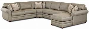 klaussner clanton transitional sectional sofa with right With transitional sectional sofa sleeper