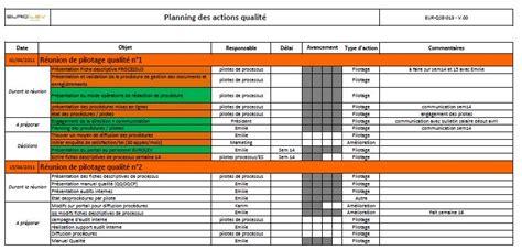 modèle plan d exemple modele plan d qse