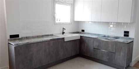 cocinasalemanascom muebles de cocina blanco  hormigon