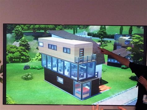 Sims 4 Moderne Häuser by Sims4 Baumodus Praesentation Haeuser Aaron Houts Simsc