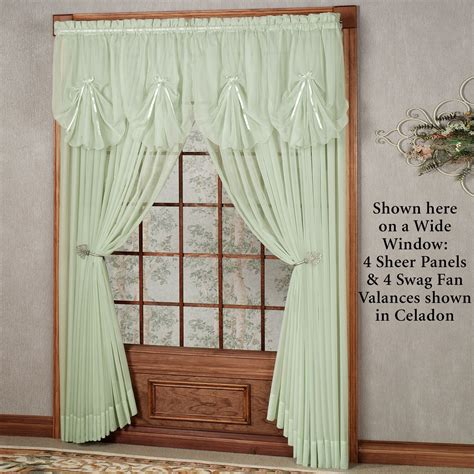 Emelia Sheer Voile Curtains by Emelia Sheer Window Treatments