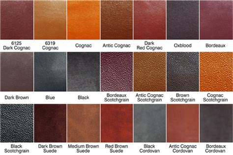 leather color crispin s blessing more leather colors edward