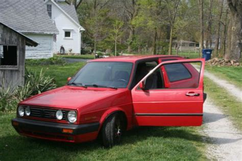 how things work cars 1991 volkswagen golf regenerative braking sell used 1991 vw golf gti mk2 in carmel indiana united states for us 6 500 00