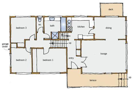 tri level house plans 1970s 1970s home floor plans home deco plans