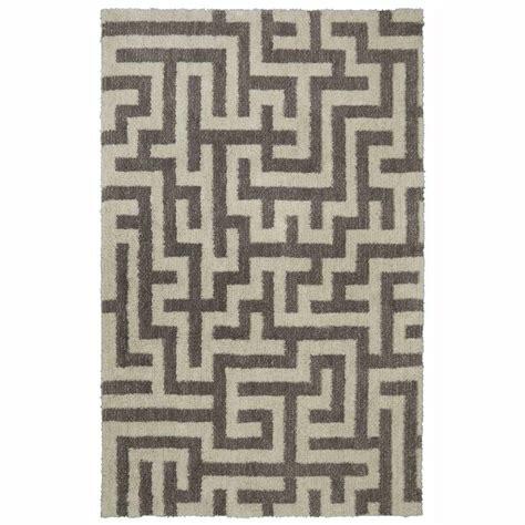 jeff lewis rugs jeff lewis benjamin grey 5 ft x 8 ft area rug 496678