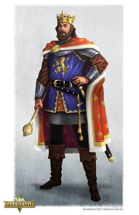 The Sims Medieval Concept Art by Tony Trujillo