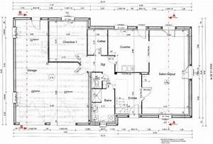 plans du rez de chaussee la maison du nounours With plan d une maison en 3d 13 comment dessiner des immeubles en 3d