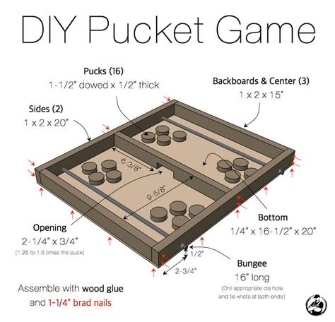 pucket game woodworking projects  kids cool woodworking projects woodworking  kids