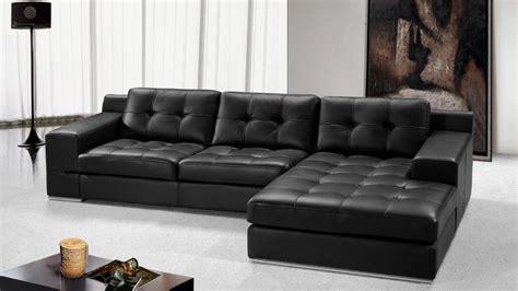 canapé d angle cuir design photos canapé d 39 angle cuir noir design