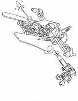 Lego Coloring Spaceship Netart sketch template