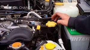 SUBARU OIL CHANGE YouTube