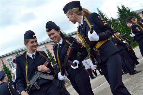 Russian Military Women Police