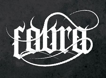 how to create a gothic blackletter typographic design auto design tech