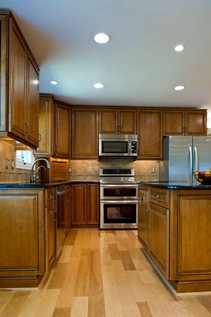 how to plan kitchen lighting dumfries floor work aisle traditional kitchen 7318