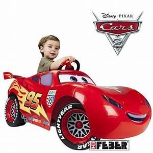 Voiture Electrique Enfant : cars 2 voiture electrique enfant flash mcqueen achat ~ Nature-et-papiers.com Idées de Décoration