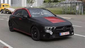 Mercedes Classe A 2018 : spy pics 2018 mercedes a class team bhp ~ Medecine-chirurgie-esthetiques.com Avis de Voitures