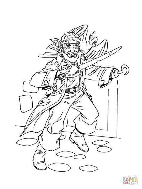 pirate   bird coloring page  printable