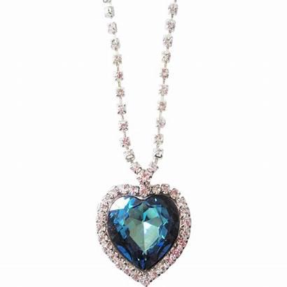 Swarovski Crystal Giant Heart Necklace Rubylane Mirror