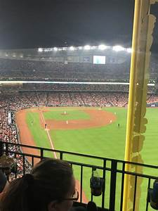 At T Park Seating Chart Rows Minute Park Section 336 Houston Astros
