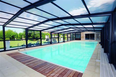 abri haut piscine abri piscine haut mod 232 les t 233 lescopiques coulissants