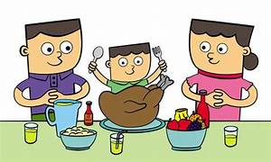 Family Eating Together Clipart - Clipart Suggest